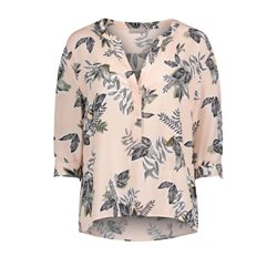 Betty & Co Botanical Print Blouse Blush