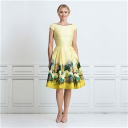 Eden Row Luna Dress Yellow