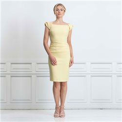Eden Row Merida Dress Yellow