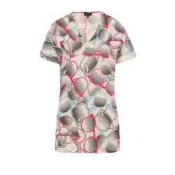 Emreco Sunglasses Printed Top Pink