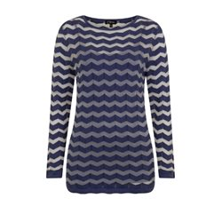 Emreco Chevron Top With Vest Navy