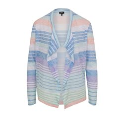Emreco Waterfall Stripe Cardigan Blue
