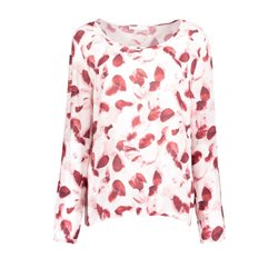 Betty & Co Spotty Design Top Wine