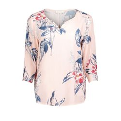 Betty & Co Exotic Flower Blouse Pink