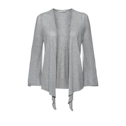 Monari Waterfall Cardigan Silver