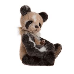 Charlie Bears Adrian The Panda Plush Collection Brown