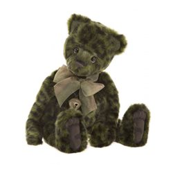 Charlie Bears Lime Pickle Teddy Bear Plush Collection Lime Green