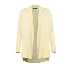 Olsen Knitted Cardigan Yellow