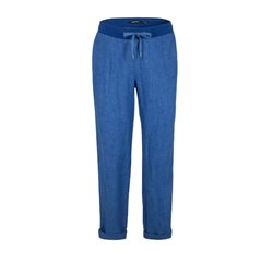 Olsen Lisa Linen Trousers Blue