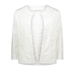 Betty Barclay Fitted Cotton Jacket Off White