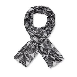 Masai Along Graphic Print Scarf Black