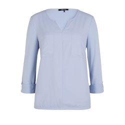 Olsen Double Pocket Top Blue