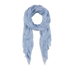 Olsen Tiny Star Print Scarf Blue