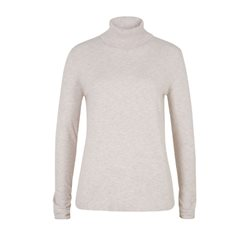 Olsen Roll Neck Pullover Cream