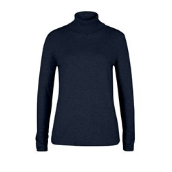 Olsen Roll Neck Pullover Navy
