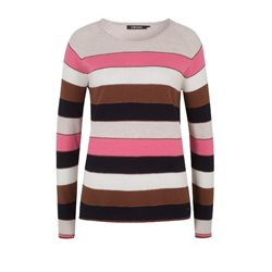 Olsen Striped Jumper Midnight Blue