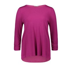 Betty Barclay Ruched Sleeve Jumper Grape