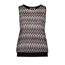 Betty Barclay Knitted Vest Top Tobacco