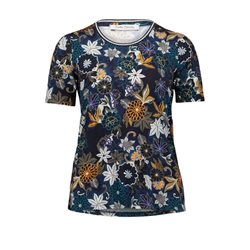 Betty Barclay Bold Floral Print Top Purple