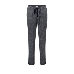 Betty Barclay Sporty Tweed Trousers Navy