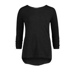 Betty Barclay Ruched Sleeve Jumper Black