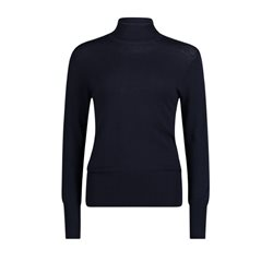 Betty Barclay Polo Neck Jumper Navy