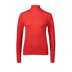 Betty Barclay Polo Neck Jumper Red