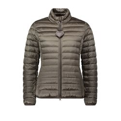 Betty Barclay Quilted Down Jacket Khaki