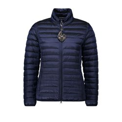 Betty Barclay Quilted Down Jacket Navy