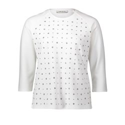 Betty Barclay Embellished Top White