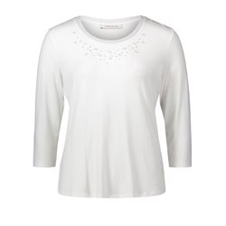 Betty Barclay Pearl Detailed Top White