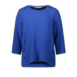 Betty Barclay Ribbed Jumper Blue