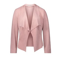 Betty Barclay Faux Suede Jacket Pink