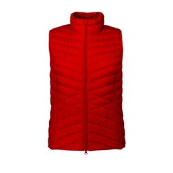 Betty Barclay Lightly Padded Down Gilet Red