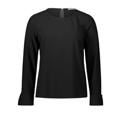 Betty Barclay Cr+?Pe Blouse Black