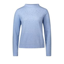 Betty Barclay Jewelled Jumper Blue