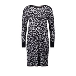 Betty Barclay Animal Print Dress Taupe