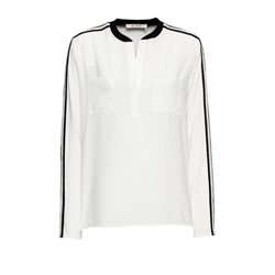 Monari Sports Luxe Blouse White
