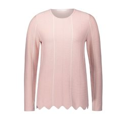 Betty & Co Ribbed Knit Jumper Rose