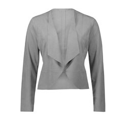Betty & Co Faux Suede Jacket Grey