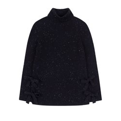 Emreco Chunky Knit Pullover Black