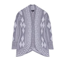 Emreco Edge To Edge Chunky Cardigan Grey
