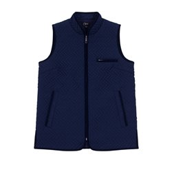 Emreco Lightly Quilted Gilet Navy