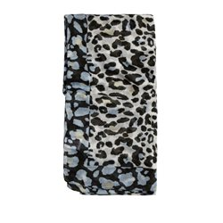 Sandwich Clothing Animal Print Scarf Blue