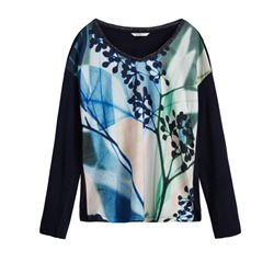 Sandwich Clothing Printed Top True Blue