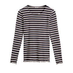 Sandwich Clothing Striped Top Olive