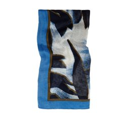 Sandwich Clothing Printed Scarf True Blue