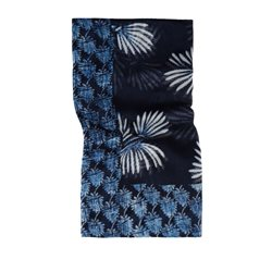 Sandwich Clothing Floral Print Scarf True Blue