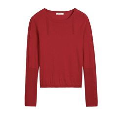 Sandwich Clothing Long Sleeve Pullover Lava Red
