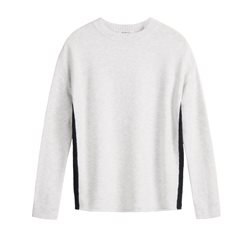 Sandwich Clothing Knitted Pullover White